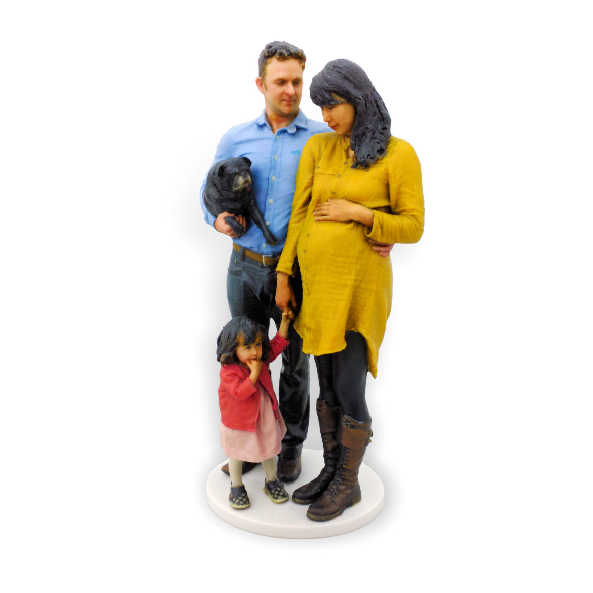 my3Dtwin-3D-Printed_Figurines_of_a_Family_with_kid_and_pregnant_women