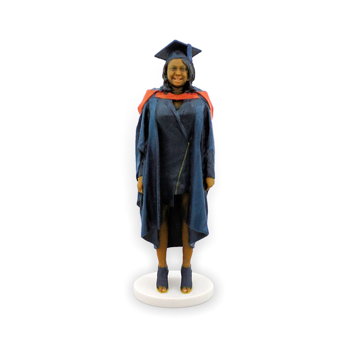 my3Dtwin, 3D Figurine of a women in graduation gown